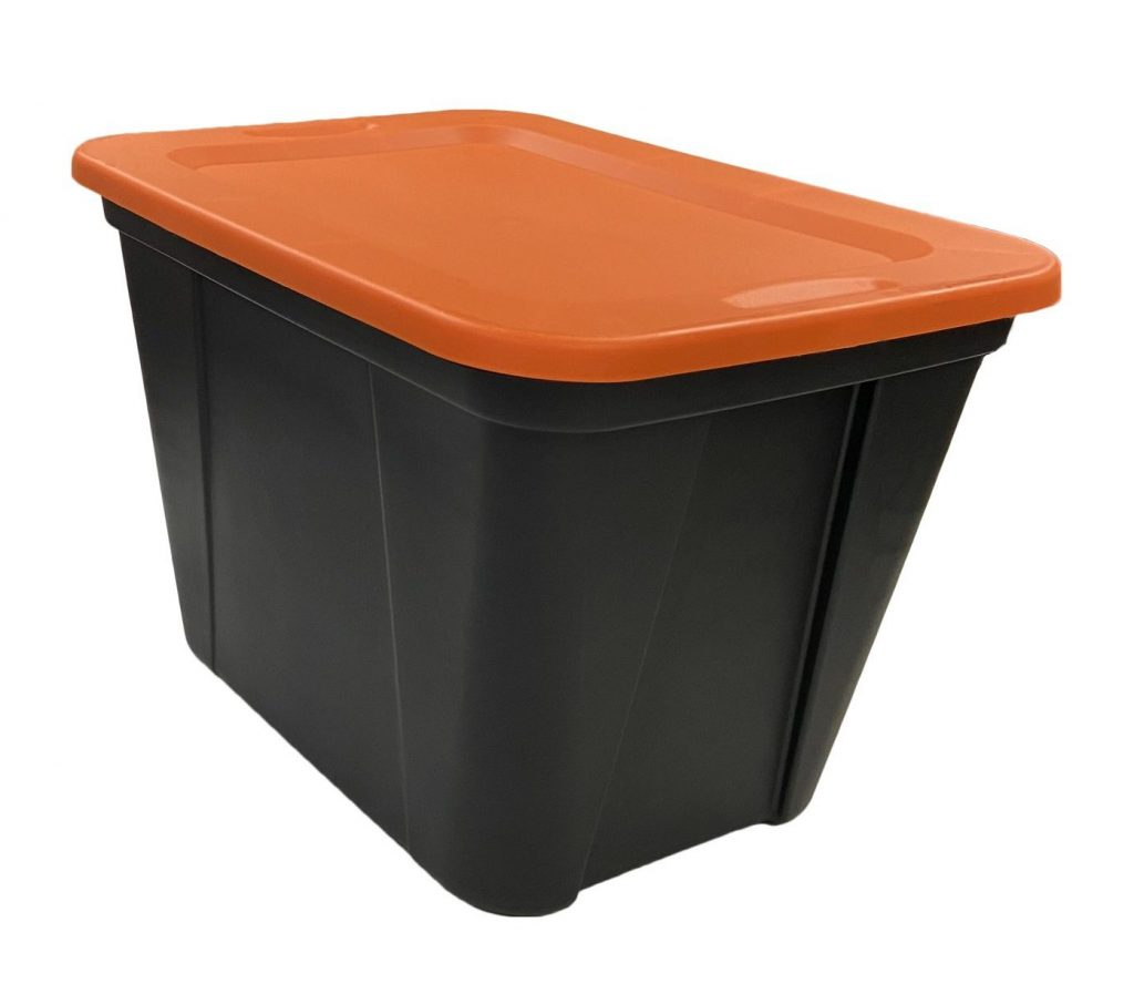 Storage Tote Manufacturing - seasonal storage totes, Edge Plastics Inc. Injection Molding Manufacturer
