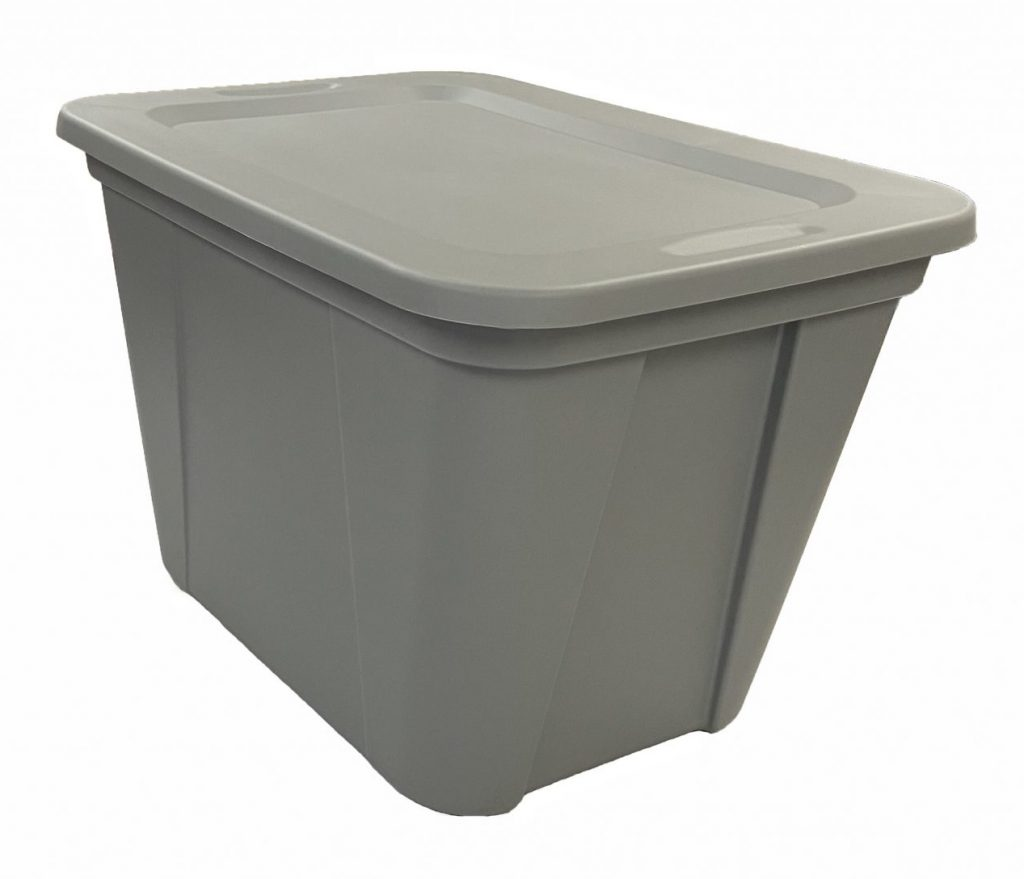 home storage totes, Edge Plastics Inc. Injection Molding Manufacturer, Canada
