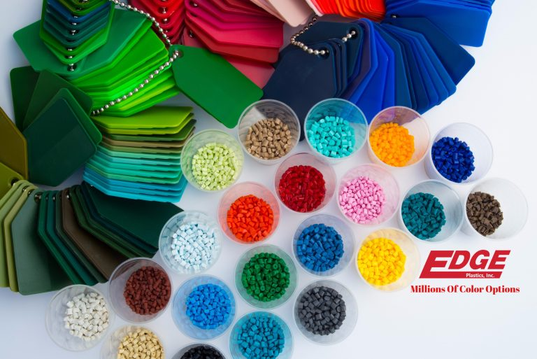 polymer injection molding storage totes Color Options, Edge Plastics Inc. Ohio