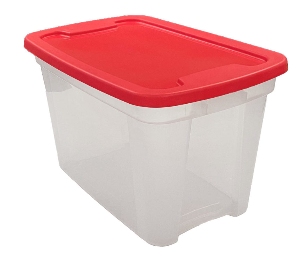 Storage Tote Manufacturing - home storage totes, Edge Plastics Inc. Injection Molding Manufacturer, Ohio
