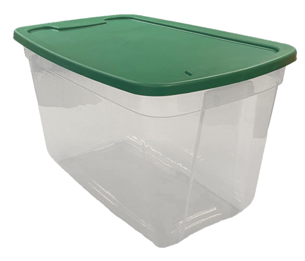 home storage totes, Edge Plastics Inc. Injection Molding Manufacturer, USA