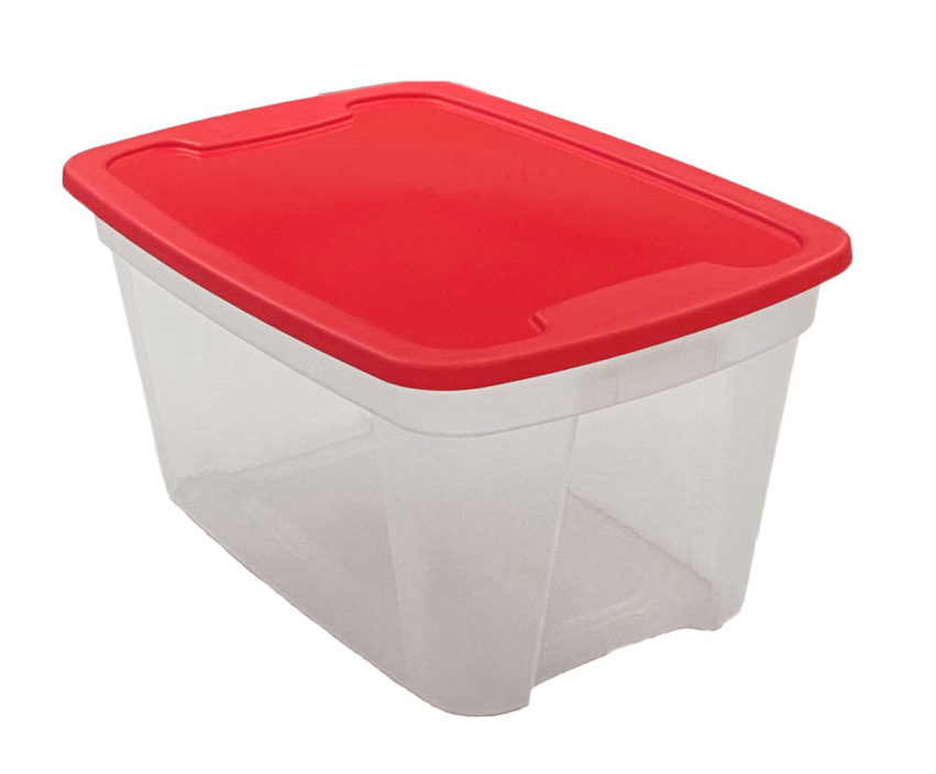 Storage Tote Manufacturing - office storage totes, Edge Plastics Inc. Injection Molding Manufacturer, Canada